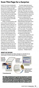 Article from PC Magazine - August 2000. Example of code available on our downloads page.