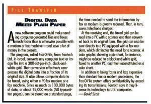 Article from Popular Science - October 1993